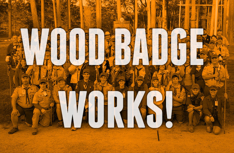 Wood Badge Works!